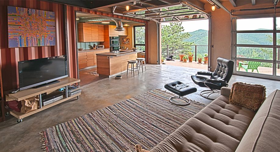 Shipping Container Homes Interiors Denver Boulder Architects