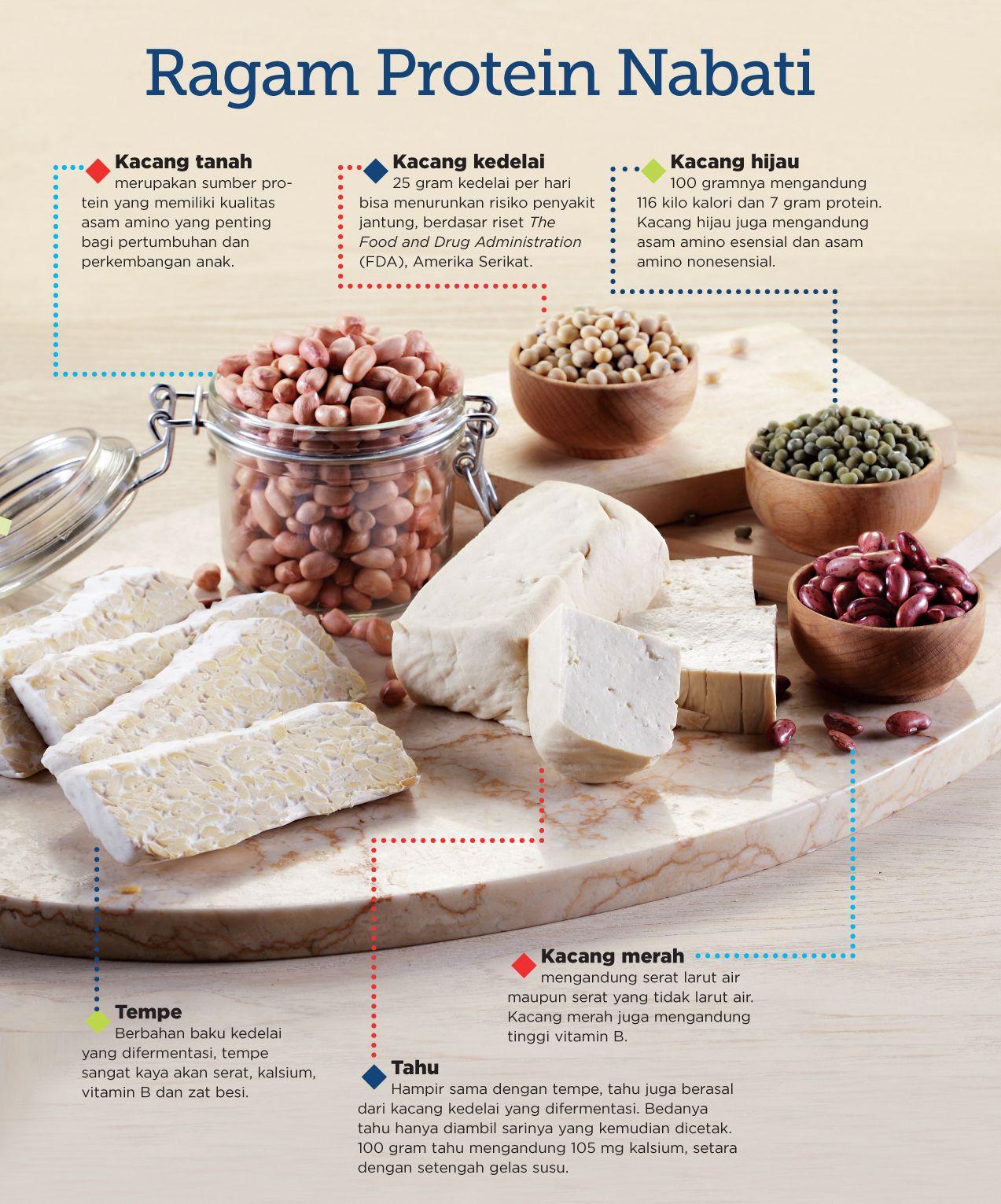 Makanan Sumber Protein Nabati dan Manfaatnya Bagi