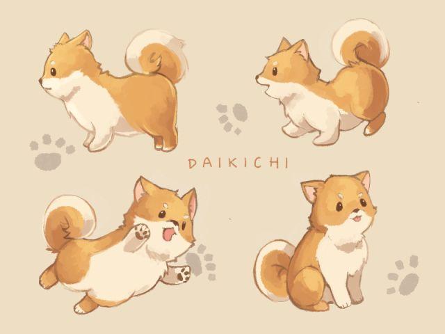 Daikichi Ensemble Stars Cute Cartoon Drawings Cute Kawaii Animals Cute Cartoon Wallpapers