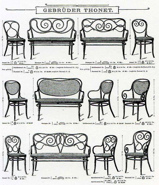 Thonet Catalogue 1904 Source Wiki Möbel Pinterest Furniture