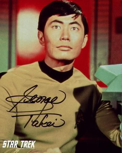 Sulu, who manned the helm of the Starship Enterprise for Captain James T. Kirk in the original Star Trek television series