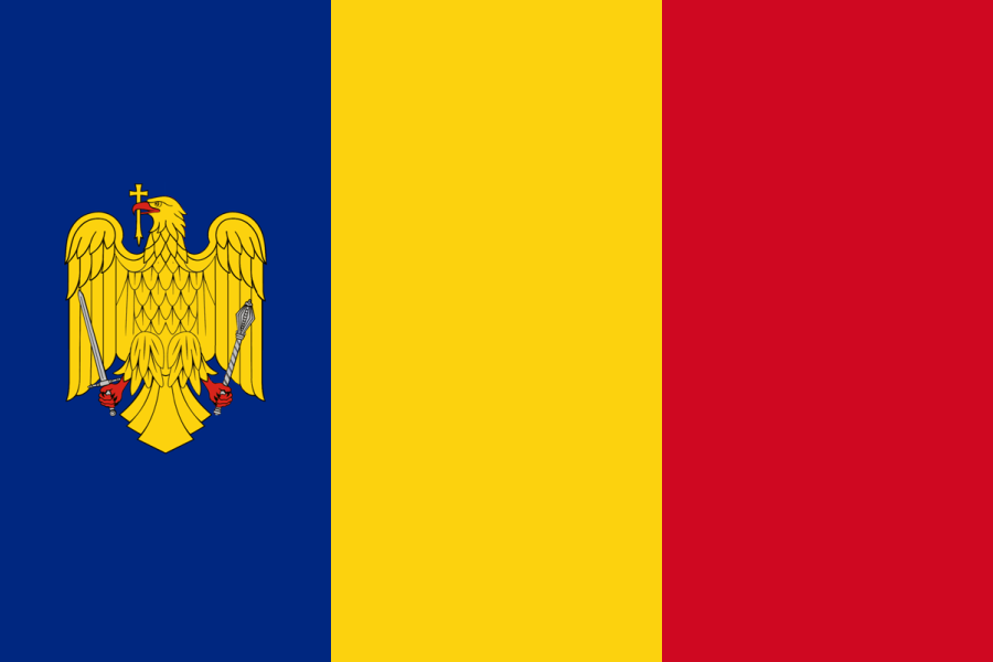 Romania Romanian Flag Coat Of Arms Flags Of The World