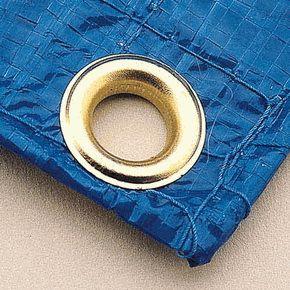 Blue Poly Tarp 15x25 Tarps Canvas Tarps Poly
