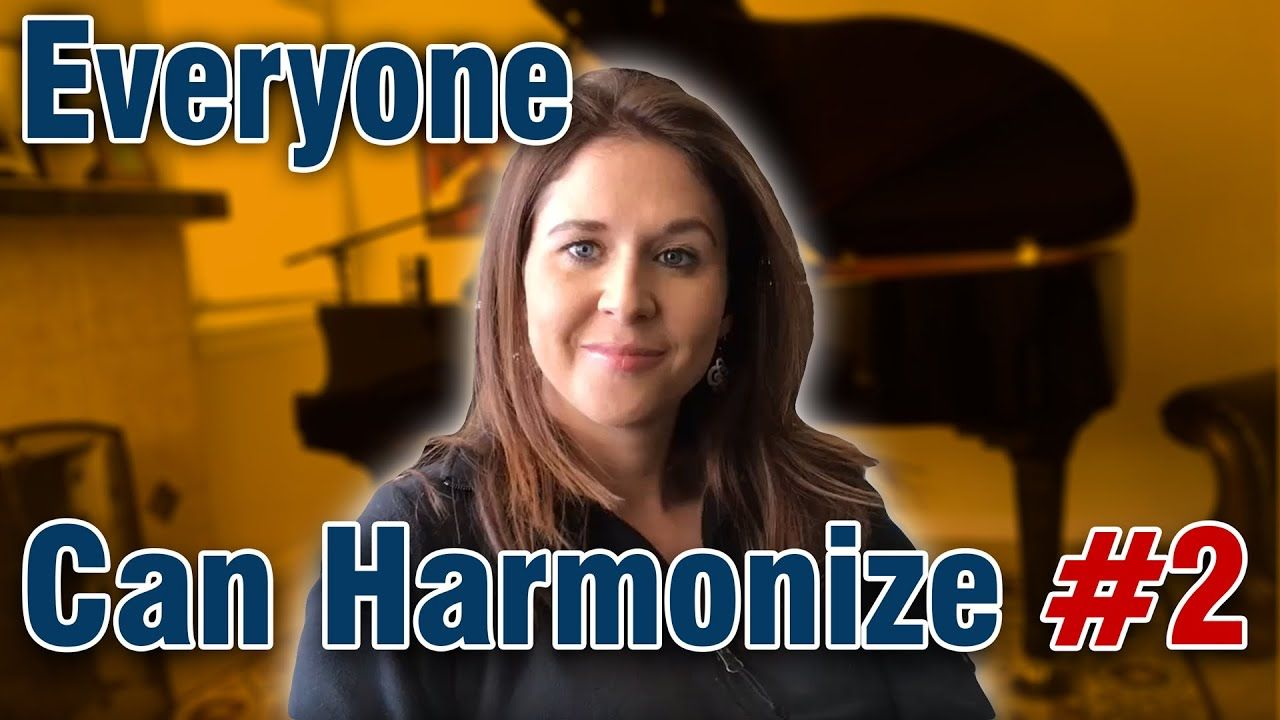 Everyone Can Harmonize Part 2 You Are My Sunshine Songs Singing