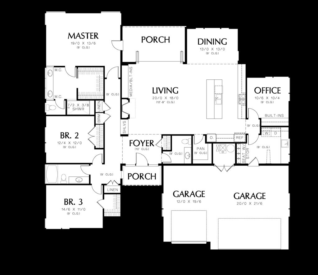 Houseplans. Offene GrundrisspläneModerne HauspläneModerne ...