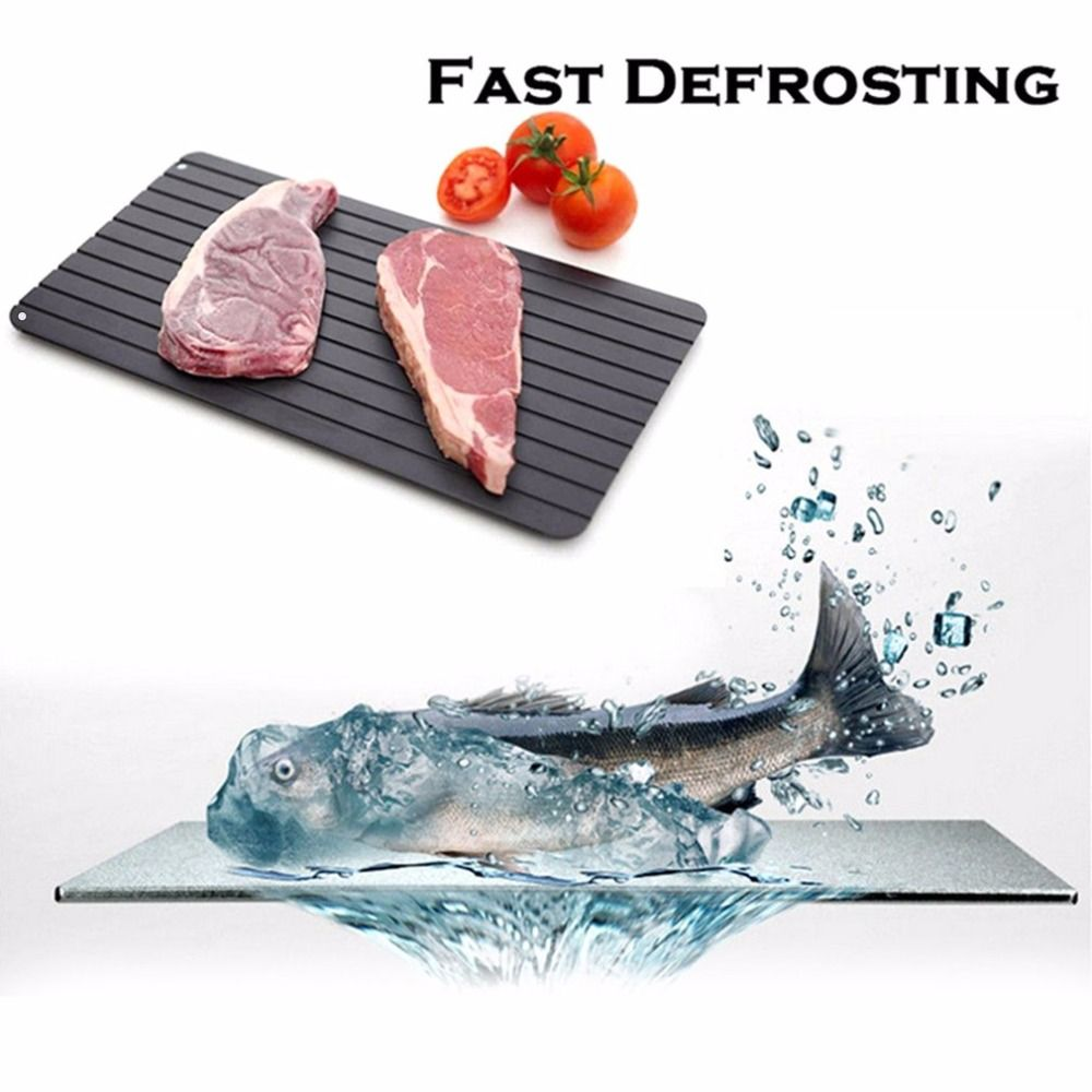 KCASA KG-01 Fast Defrosting Tray Defrost Meat Thaw Frozen Food Magic ...