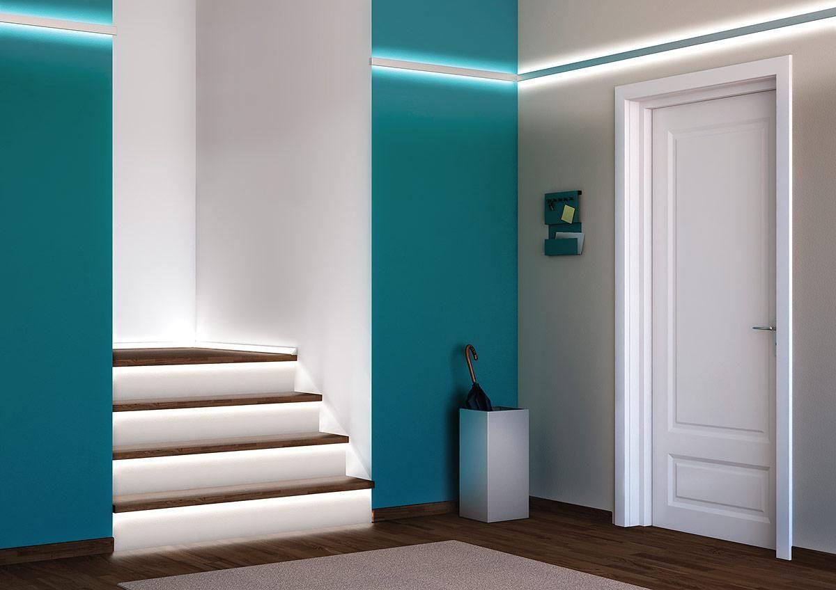 indirekte beleuchtung tipps f r sch nes licht wohnideen f r den flur indirekte beleuchtung. Black Bedroom Furniture Sets. Home Design Ideas