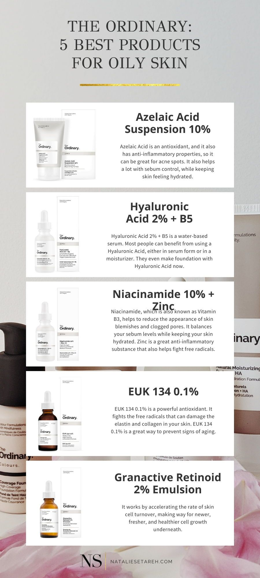 The Ordinary Skincare Routine For Oily Skin Natalie Setareh The Ordinary Skincare Routine Oily Skin Care Routine Skin Care Routine Order