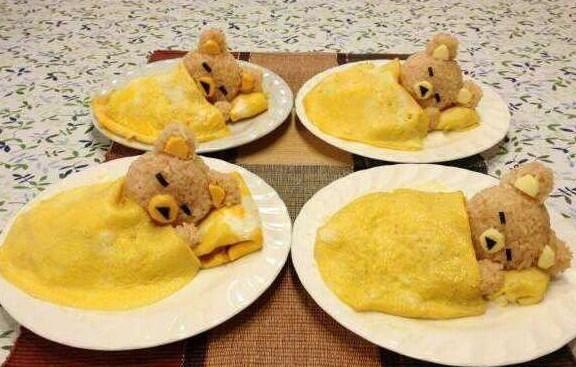 """@iyasre: 可愛すぎて食べられないオムライス♪ ""@catweetga @take35c @TIINA1969 @LindaDHendrick1 @AmandaSagoo14"