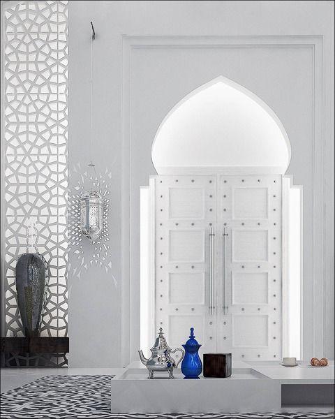 El estilo arabe casa salam decoraci n marroqu moderna - Decoracion arabe interiores ...