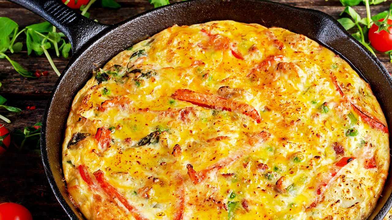 Photo of VEGETABLE FRITTATA – barre3
