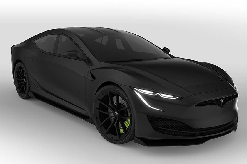 All New Tesla Model S Could Look Like This Carbuzz Tesla Model S Tesla Model New Tesla