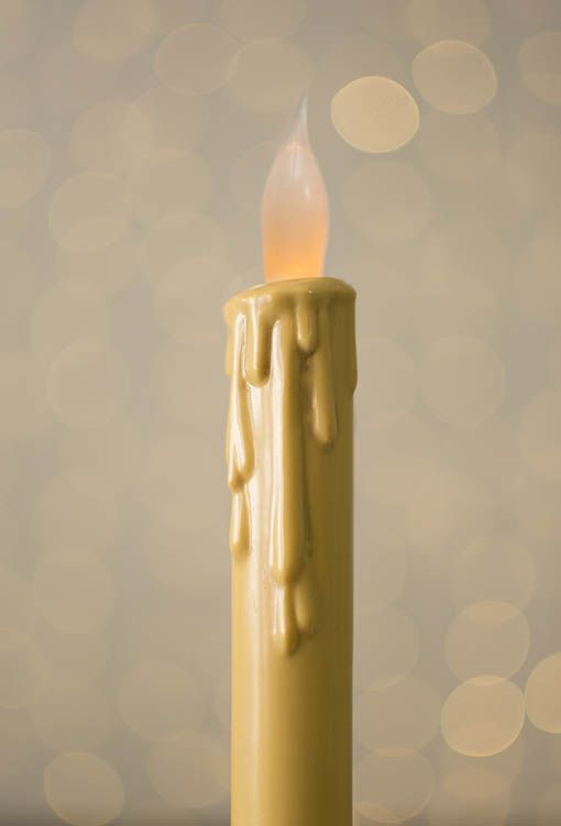 Amazon Com Primrose Flameless Led Taper Candles With Timer