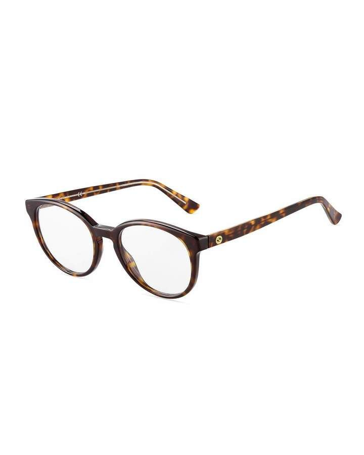 0b24325ec1011 Gucci Square Acetate Optical Glasses