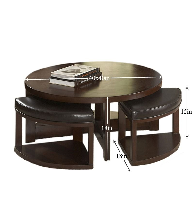 Round Coffee Table With Stools Round Coffee Table Coffee Table