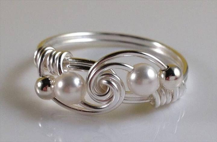 Photo of Wire Rings Tutorial: How To Make Wire Wrapped Bead Rings