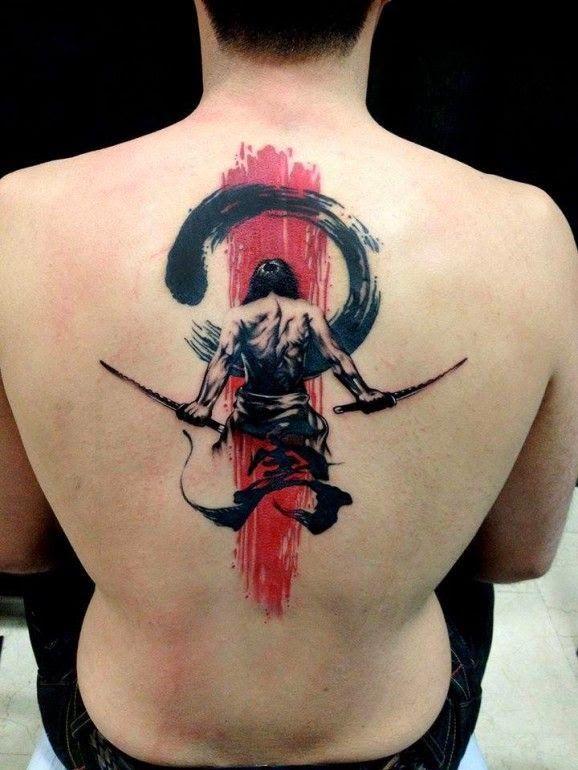 Tatuajes De Samurais En La Espalda Buscar Con Google Samurai