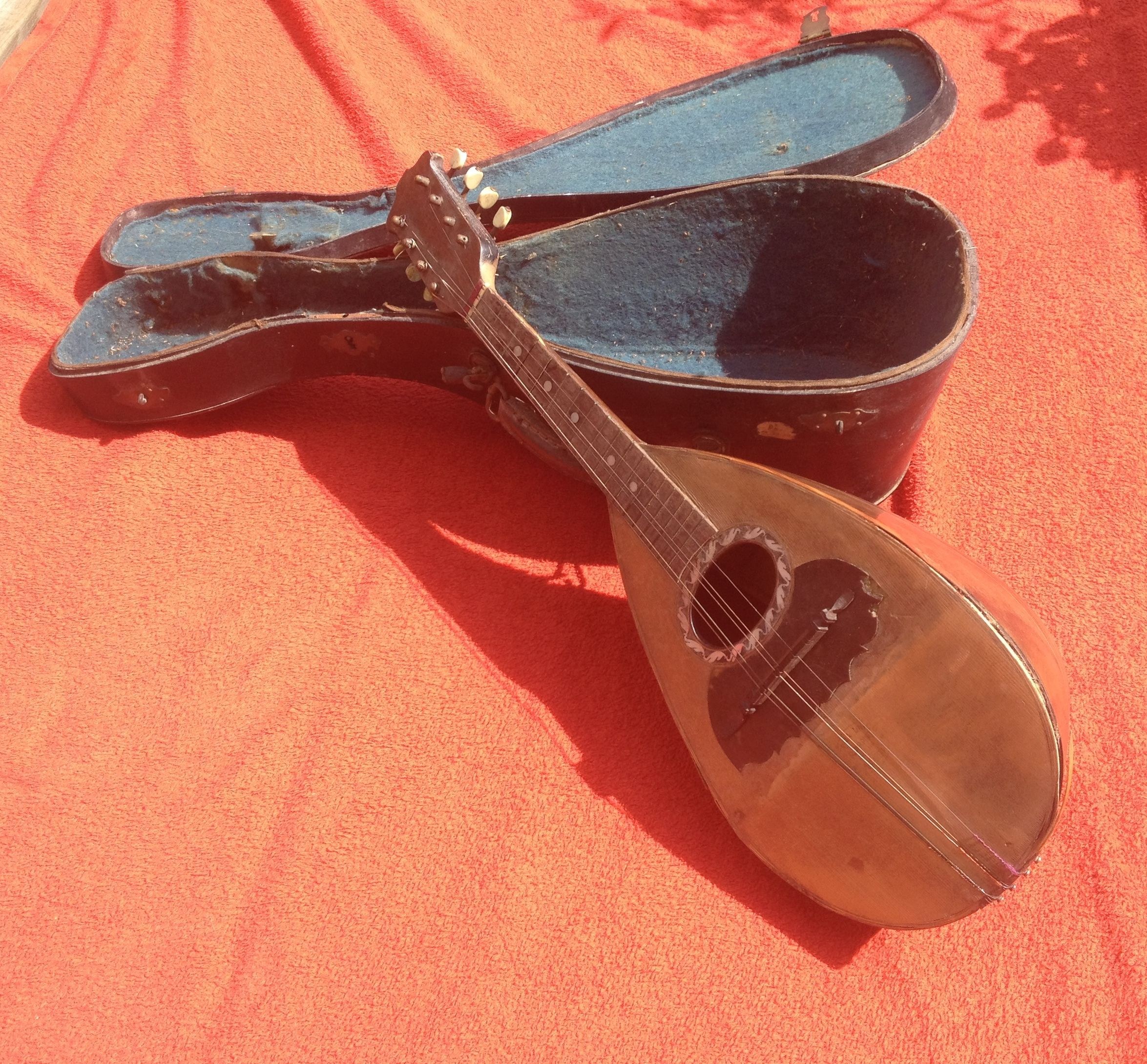 vintage mandoline felice arpino -napoli ,italy- & jerome thibouville