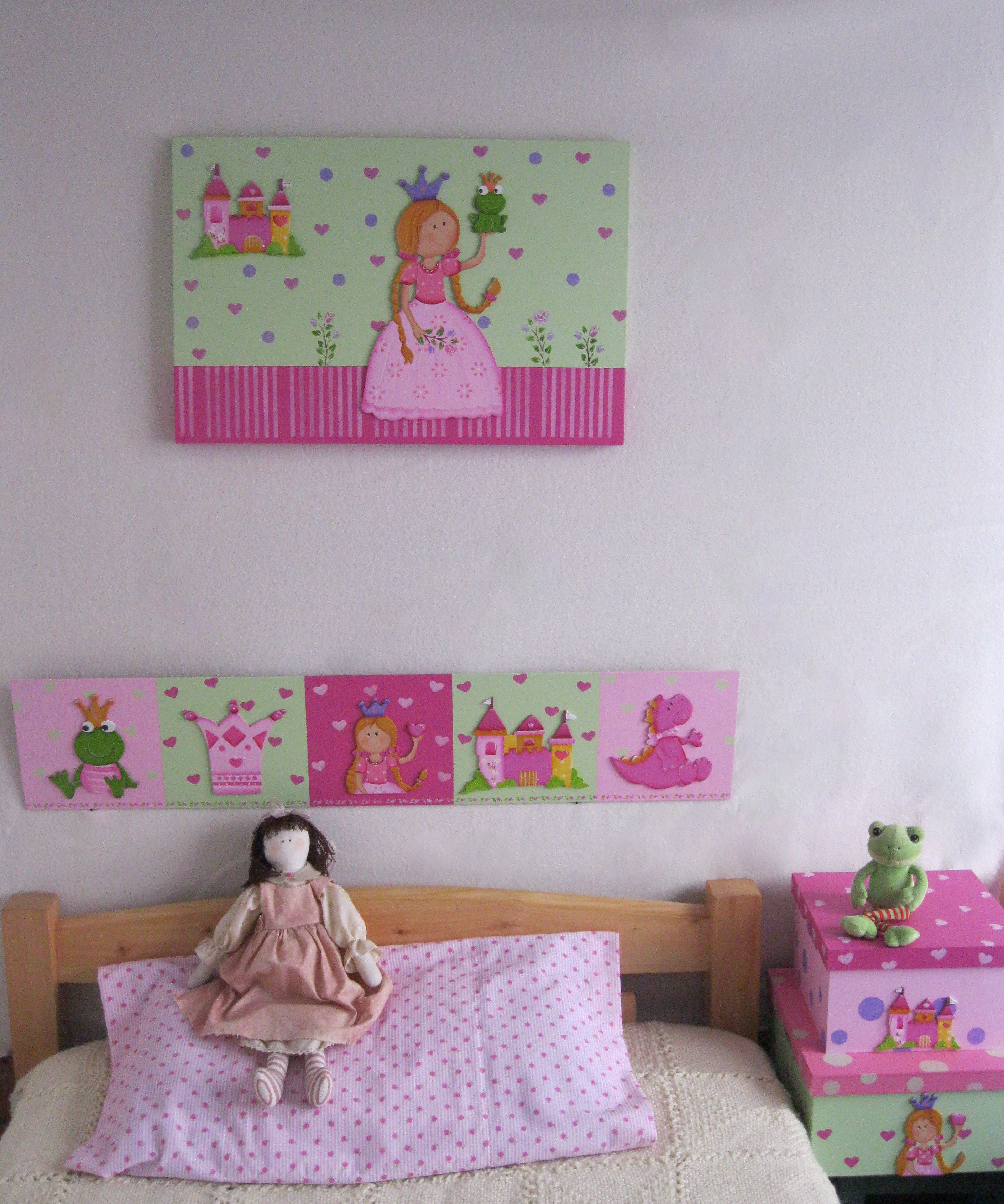 Cuadro cenefa y cajas decorativas ana pinterest for Cenefas infantiles pared