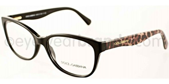286c9307b77b Dolce   Gabbana DG 3136 Dolce   Gabbana DG3136 2525 Black Brown Dolce   Gabbana  Glasses Online from EyewearBrands