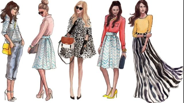 I love the outfits and drawings