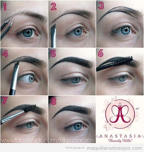 Tutorial con fotos para aprender a maquillar las cejas - Como maquillarse paso a paso ...