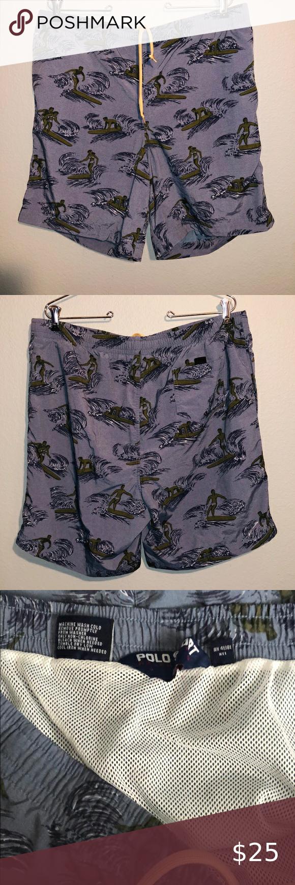 Ralph Lauren Polo Sport Men S Swim Trunks Mens Swim Trunks Clothes Design Swim Trunks
