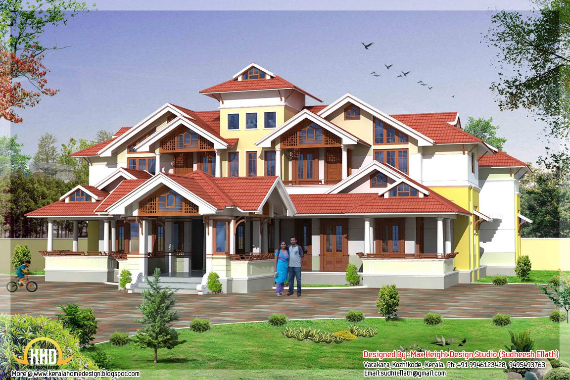 Fancy Houses in India | Super Luxury Florida House Plans