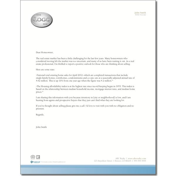 Low Inventory Prospecting Letter I u003c3 being a Realtor Pinterest - new sample letter to refund tickets
