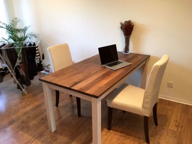 Solid Oak Dining Table And Chairs For 200 On Gumtree We Are A Selling