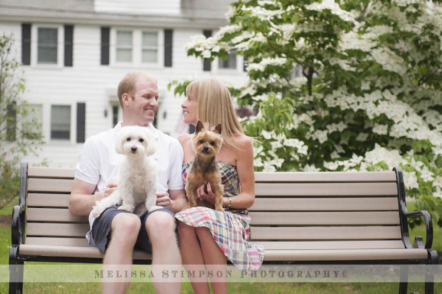 engagement shoot with your dogs www.melissastimpson.com