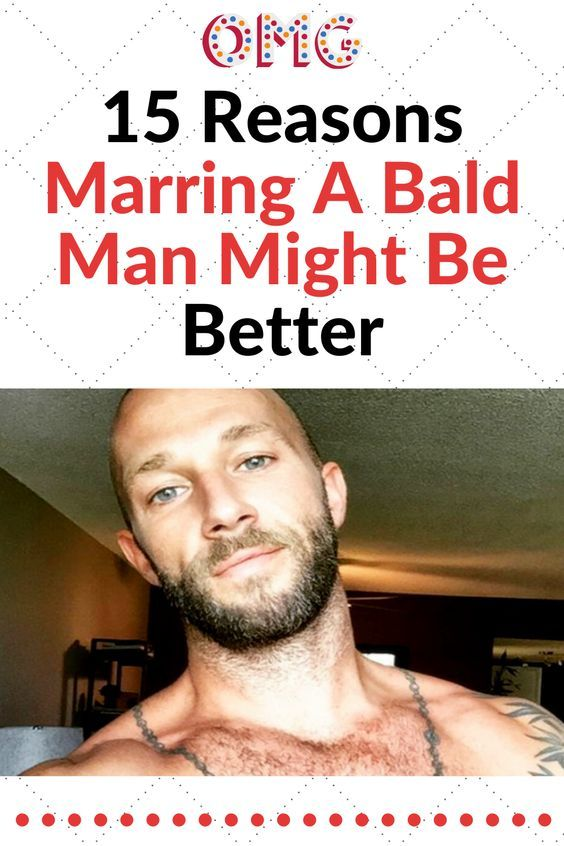 15 Reasons Marring A Bald Man Might Be Better #reasons #marring #better #amazing #interesting #trending