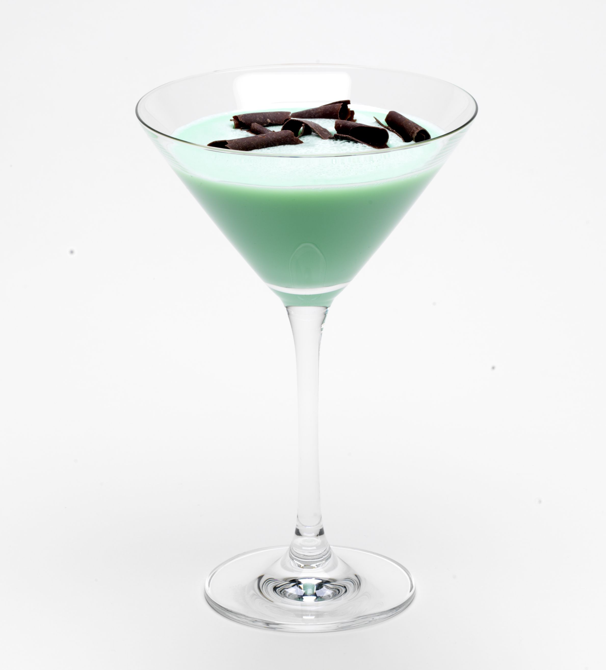Mint ChocoChata Martini: 2 parts RumChata 1 part chocolate vodka 1 ...