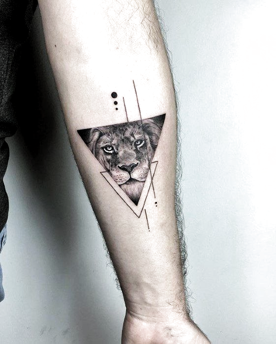 40 Small Detailed Tattoos For Men Cool Complex Design Ideas Tattoos For Guys Best Sleeve Tattoos Triangle Tattoos