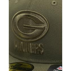 New Era Fitted Cap Männer,Frauen Nfl Green Bay Packers Poly Tone 59fifty in olive New EraNew Era