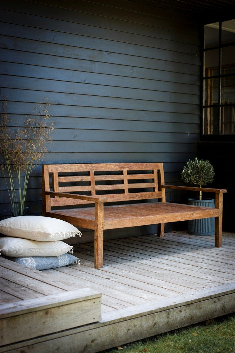 Simple and chique outdoor Pinterest Teak