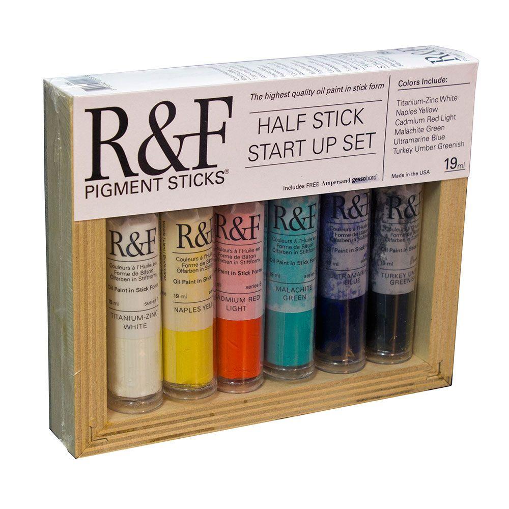 R&F Pigment Stick Sets Handmade paint, Discount art