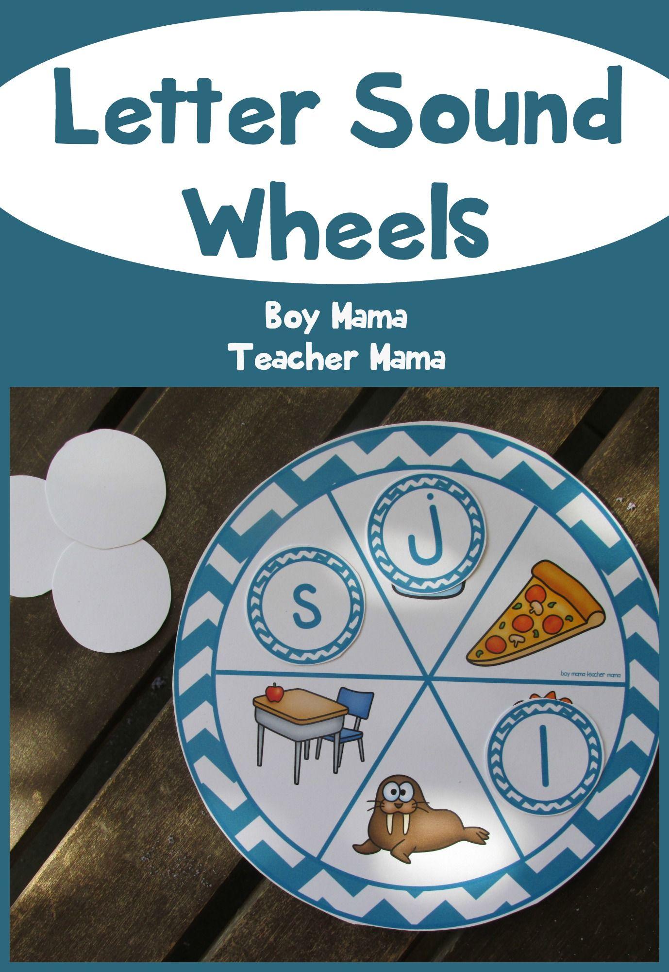 Teacher Mama Letter Sound Wheels After School Linky