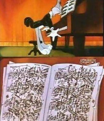 Bugs Bunny Piano Cartoons Classical Music Music Music Bands