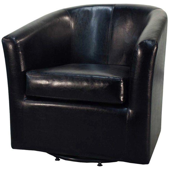 Hayden Barrel Chair | Barrel chair, Swivel barrel chair ...