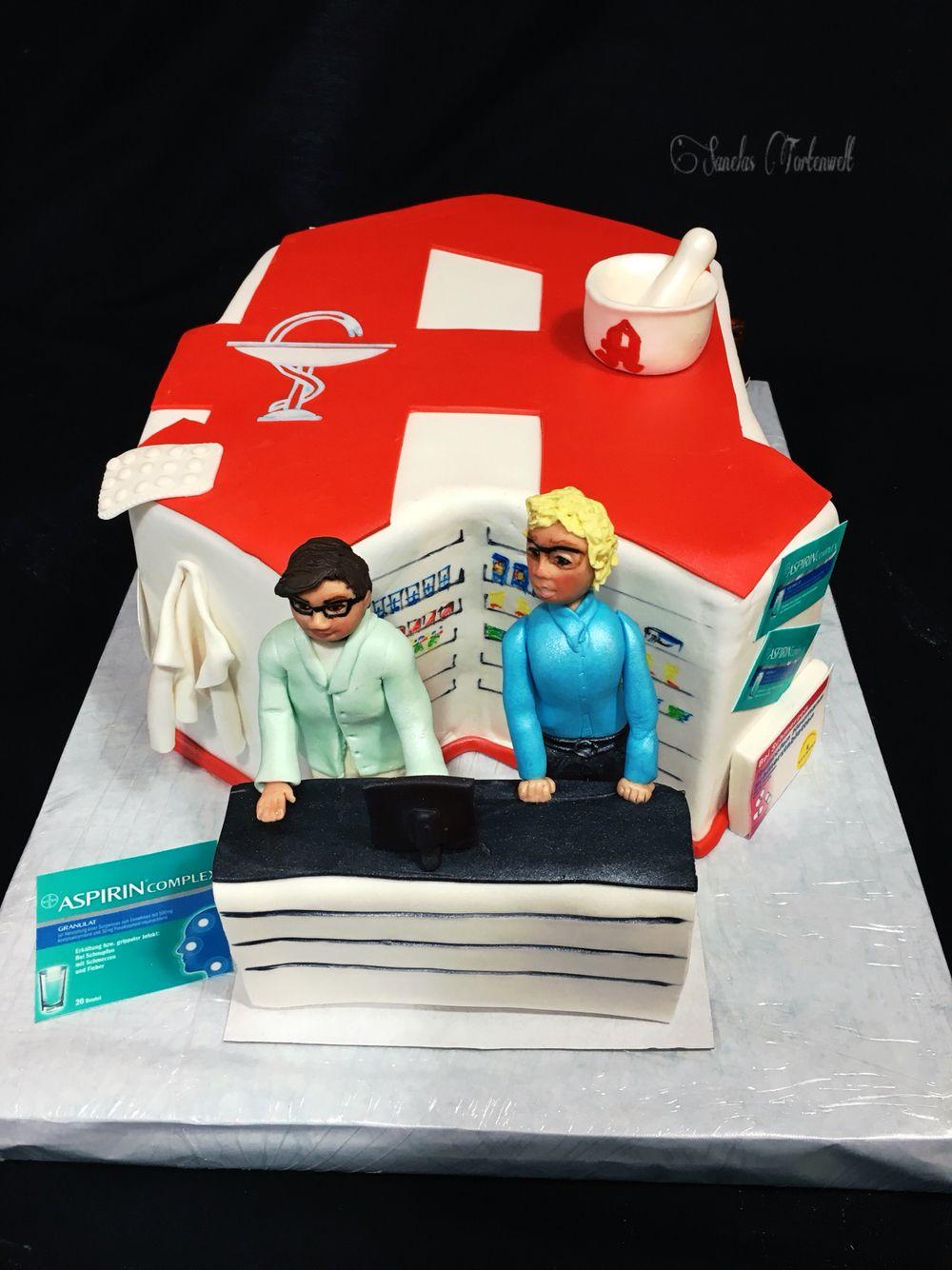 Pharmacy Cake Apotheke Torte Kuchen Backen Torten