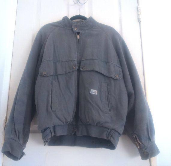 70s men's bomber jacket Scandinavian brand by Finndressed on Etsy