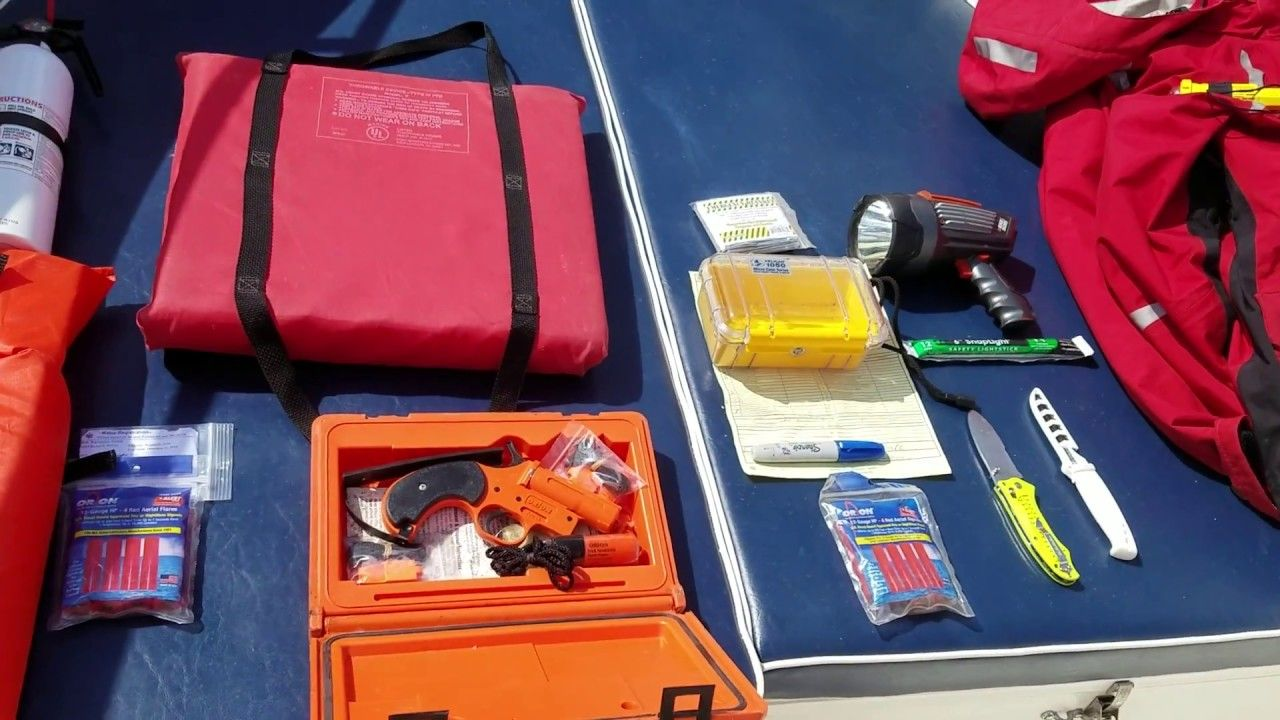 Recreational Boating Safety Equipment Going over a few