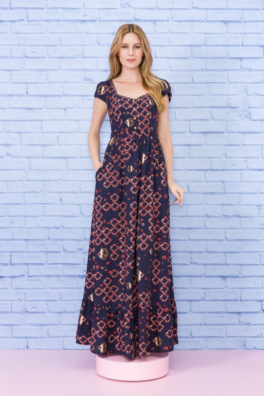O vestido longo Entregador de Flores é uma das peças mais ...