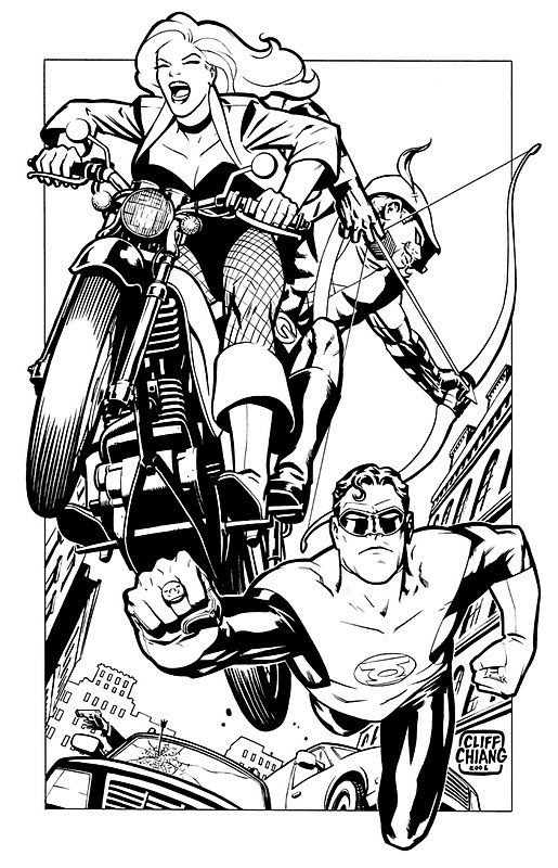 Black Canary, Green Arrow and Green Lantern •Cliff Chiang ...