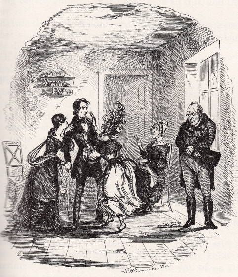 Kate Nicholas Miss La Creevy Mrs Nickleby And Ralph Family