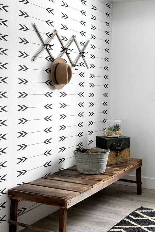 Wallpaper For Small Spaces Part - 22: The Best Wallpaper For Small Spaces (33 Perfect Prints!)