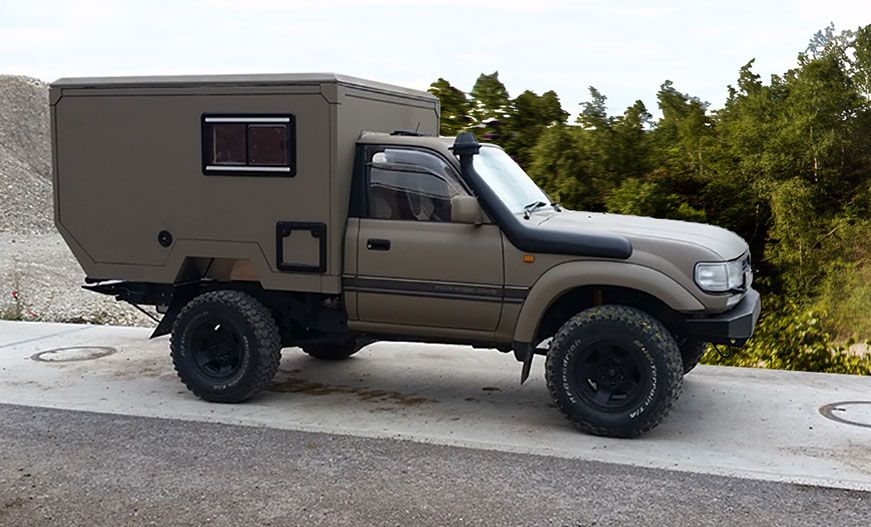 pick up box de camper pick up autos camionetas en toyota. Black Bedroom Furniture Sets. Home Design Ideas