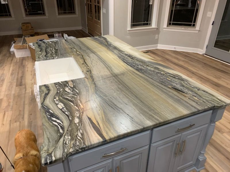 Granite Countertop Warehouse Offers Discounted Granite And Fabrication Including Granite Slab In 2020 Engineered Stone Countertops Custom Countertops Stone Countertops