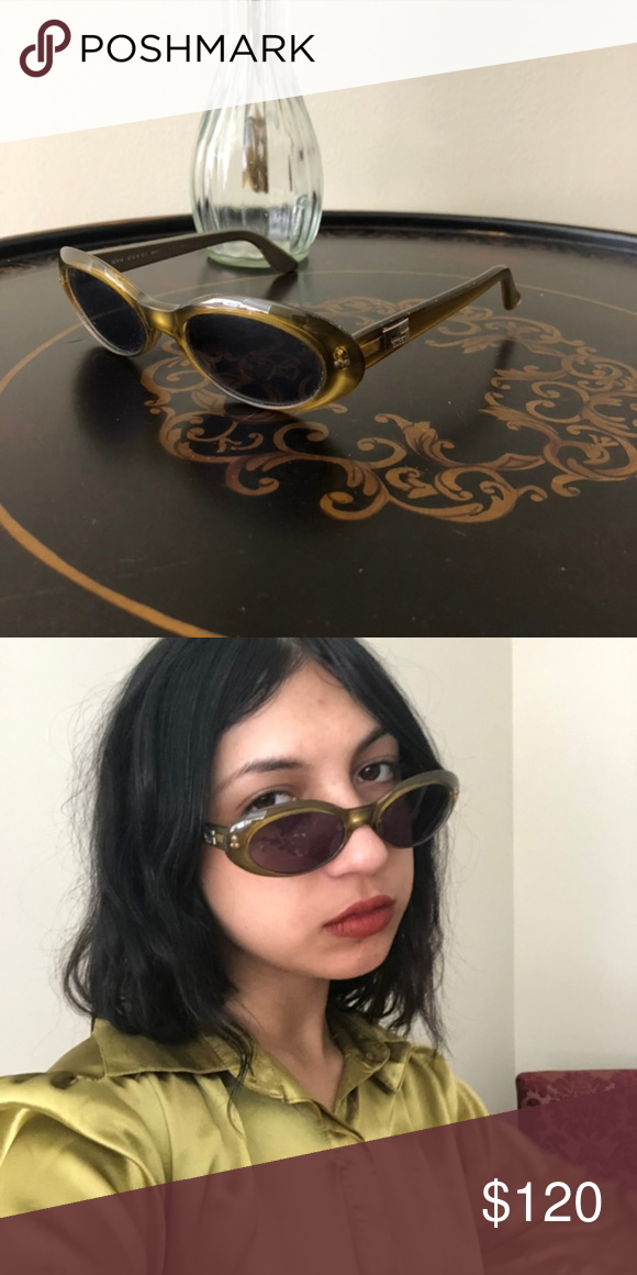 Sold Vintage Gucci Clout Glasses Vintage Gucci Sunglasses Accessories Gucci